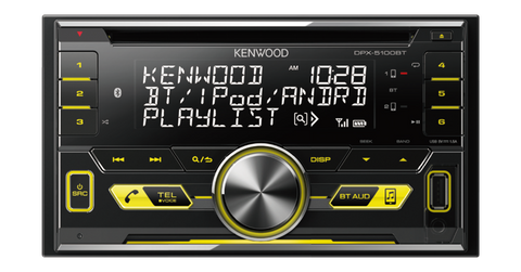 KENWOOD DPX-5100BT Double Din Bluetooth Player