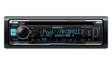 KENWOOD KDC-200UV iPod & Android USB CD Receiver