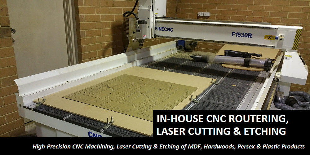 IN HOUSE CNC MACHINING