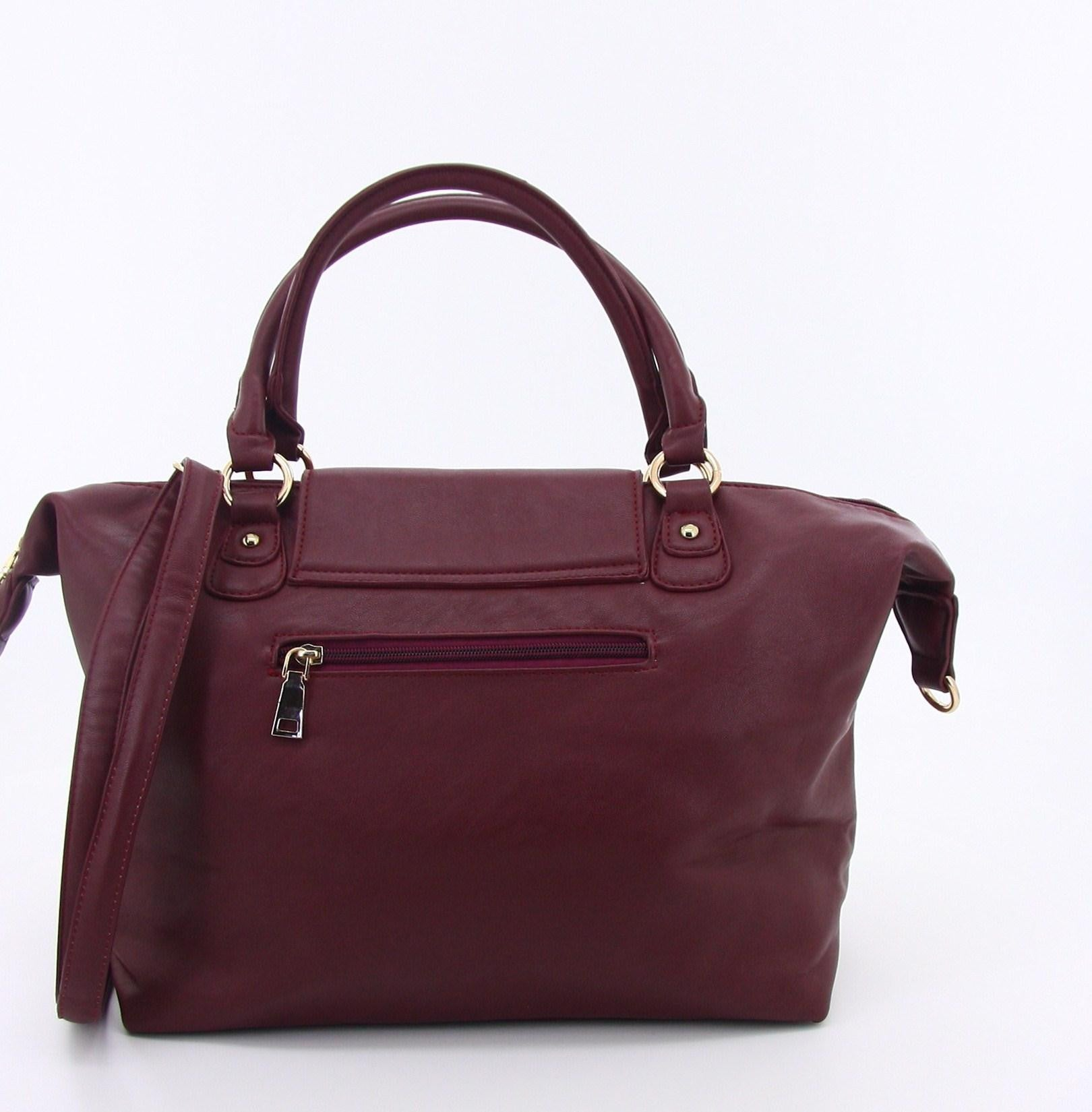 C15AU642RE Luxe Practicality Tote (Red)