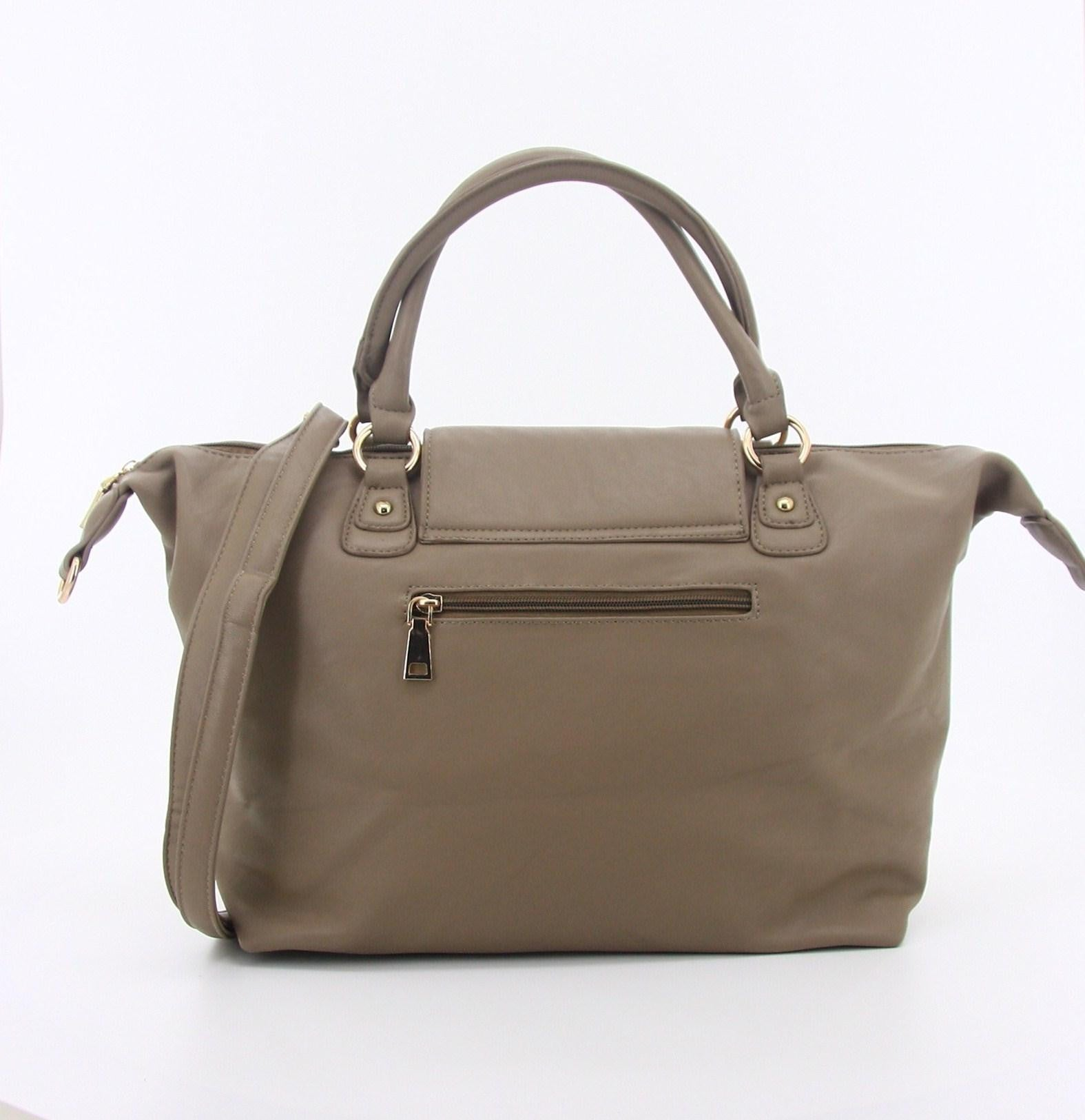 C15AU642TP Luxe Practicality Tote (Taupe)