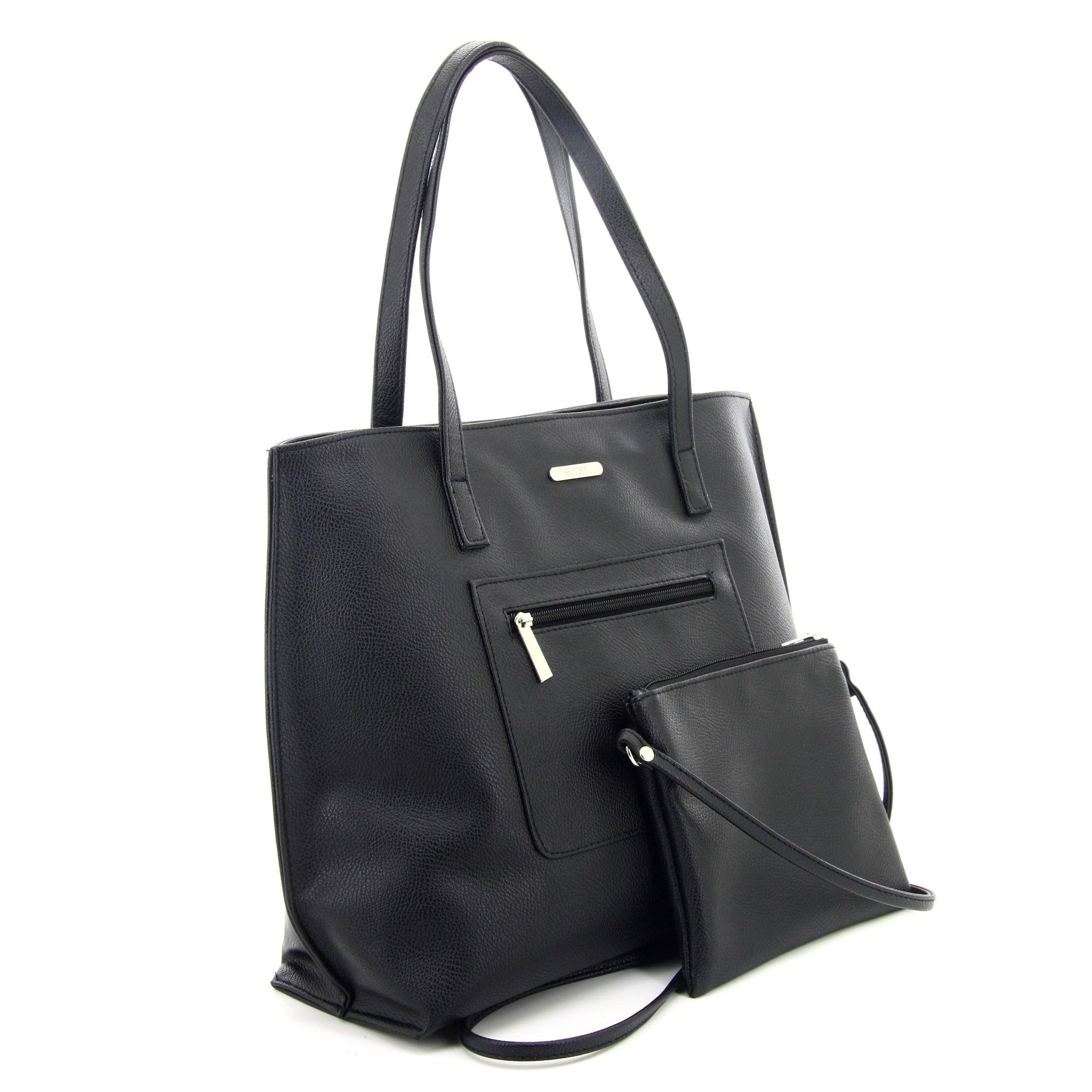 C17FE744BK 2-IN-1 TOTE BAG AND SLING (Black)