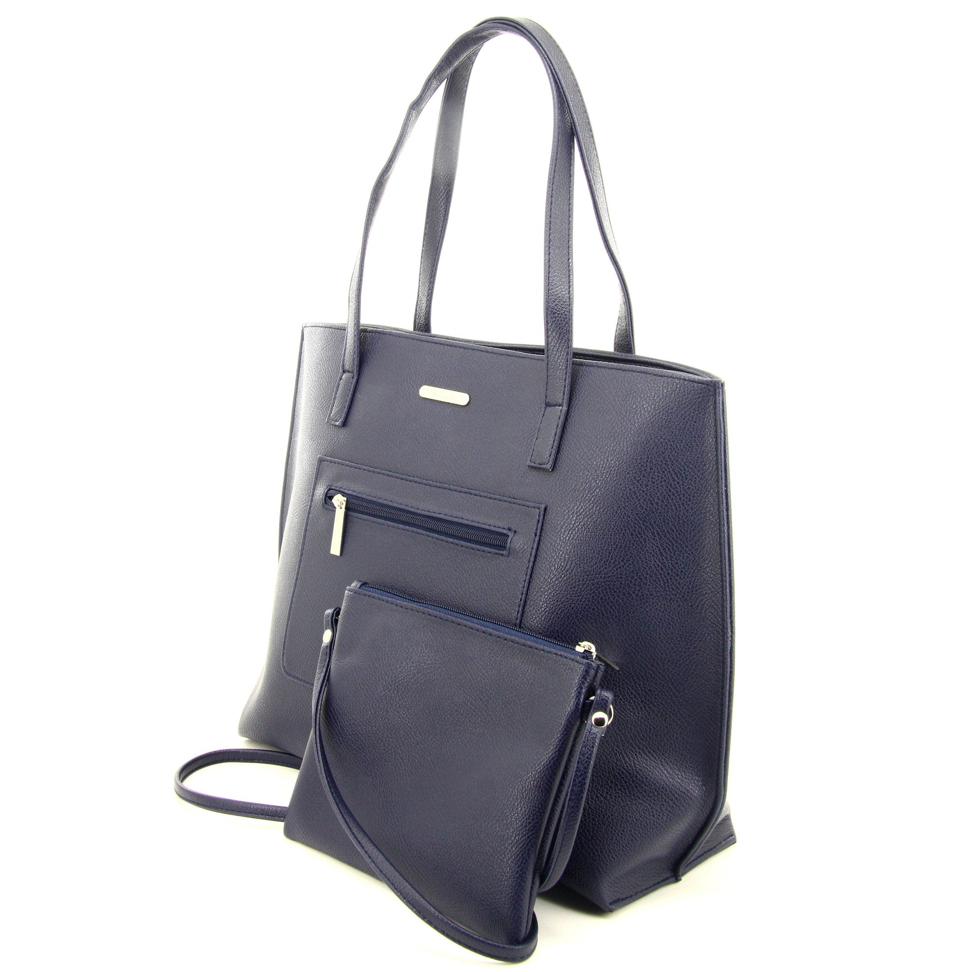 C17FE744BL 2-IN-1 TOTE BAG AND SLING (Blue)