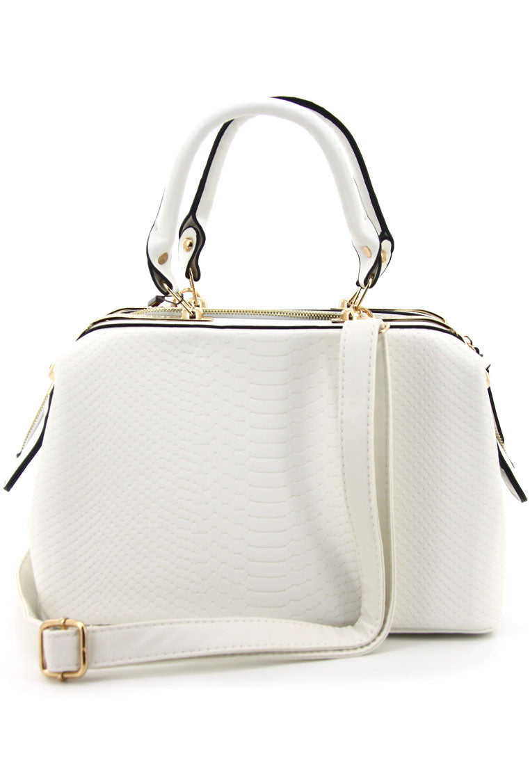 C14MR466WH Doctor Luxe Bag (White)