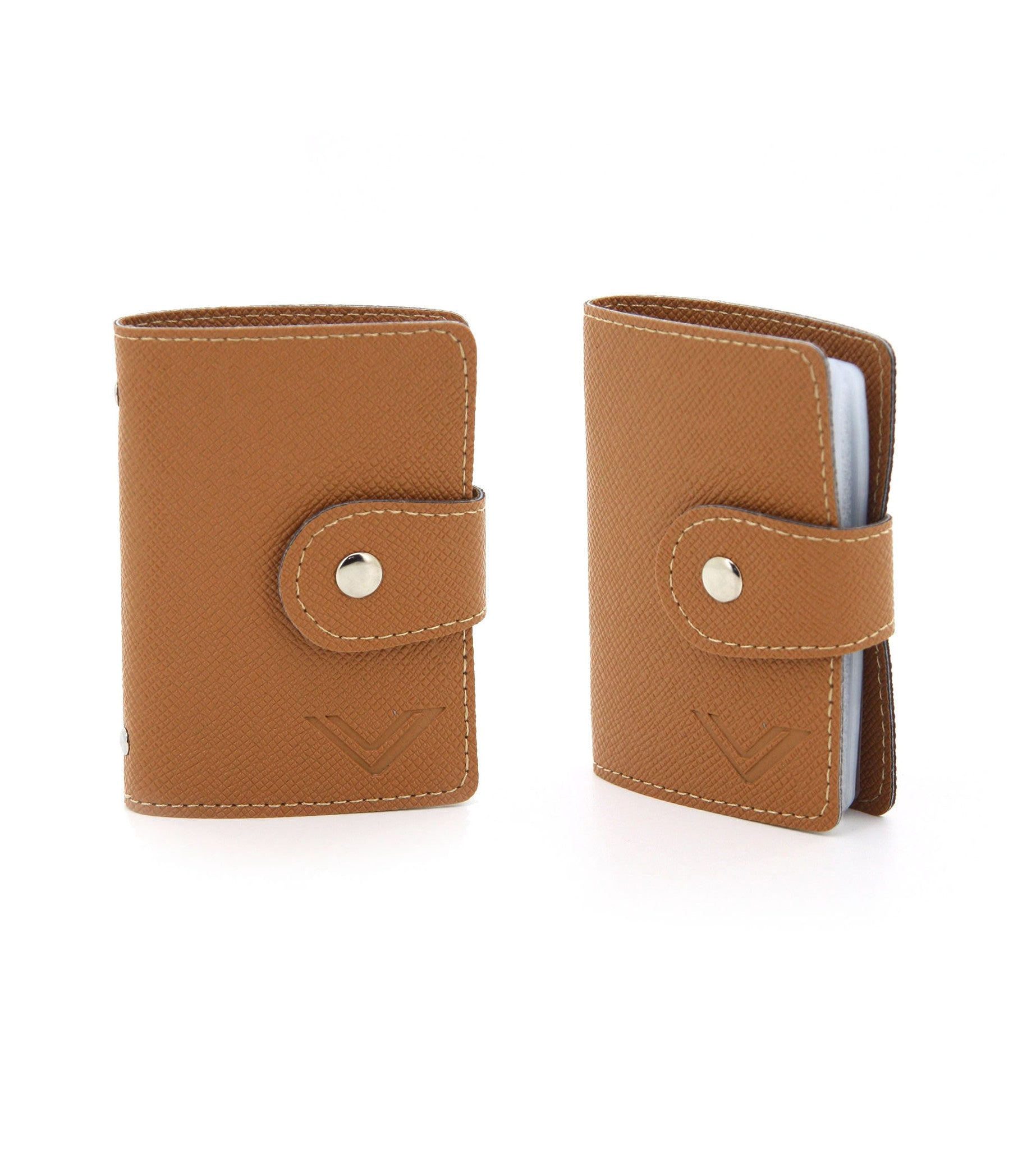 C14SP518BRx2 Cardholder Pair (Brown)