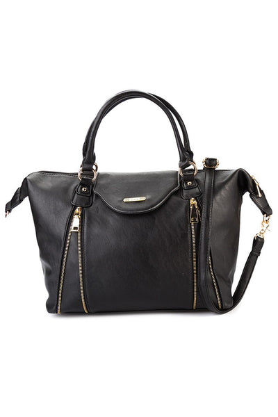 C15AU642BK Luxe Practicality Tote (Black)