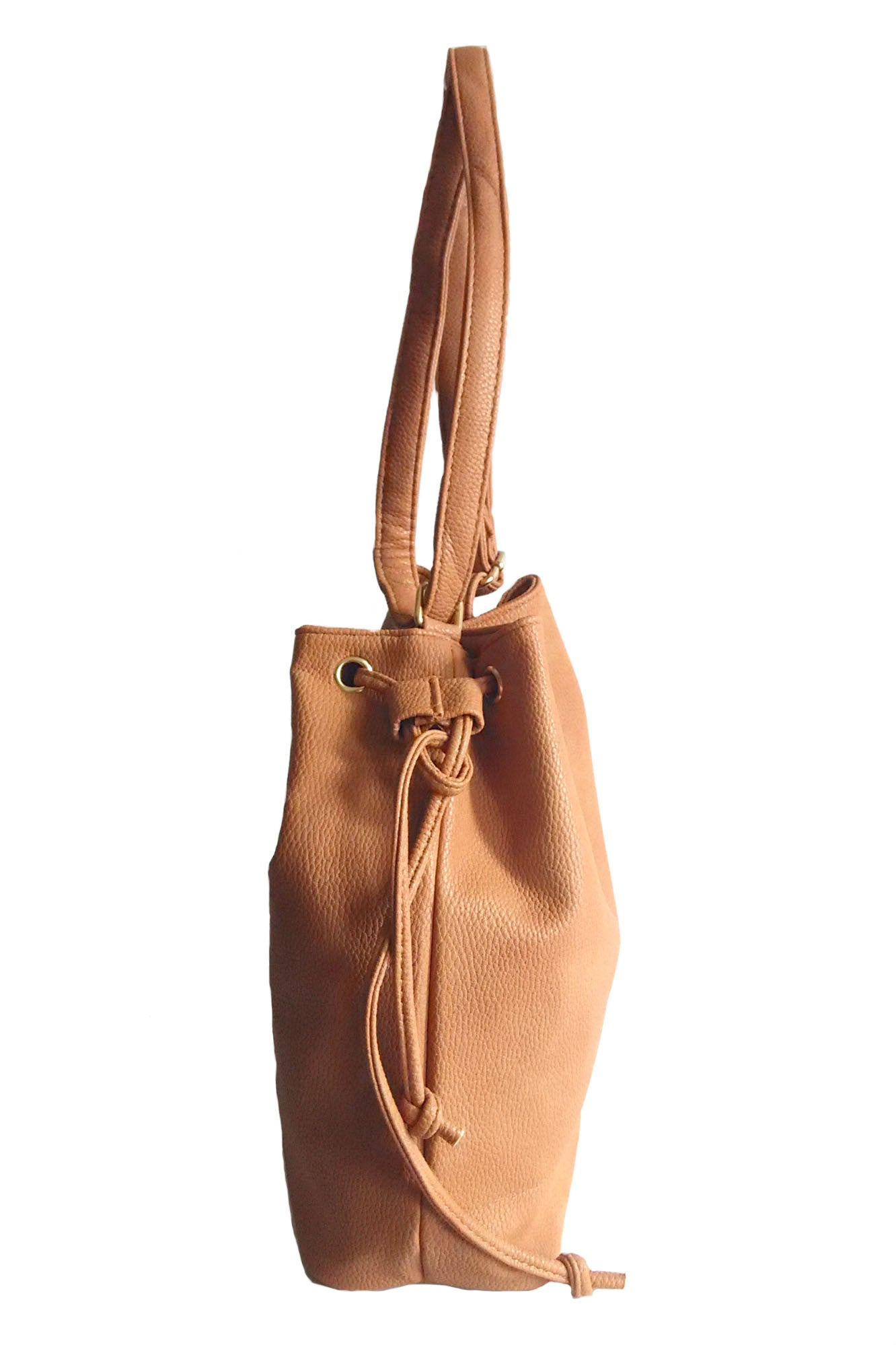 C15MR601BR Bucket Sling Bag (Light Brown)