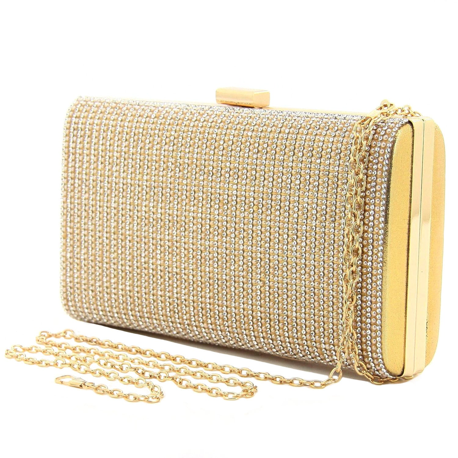 C16MR660GO Sofia Evening Clutch (Gold)