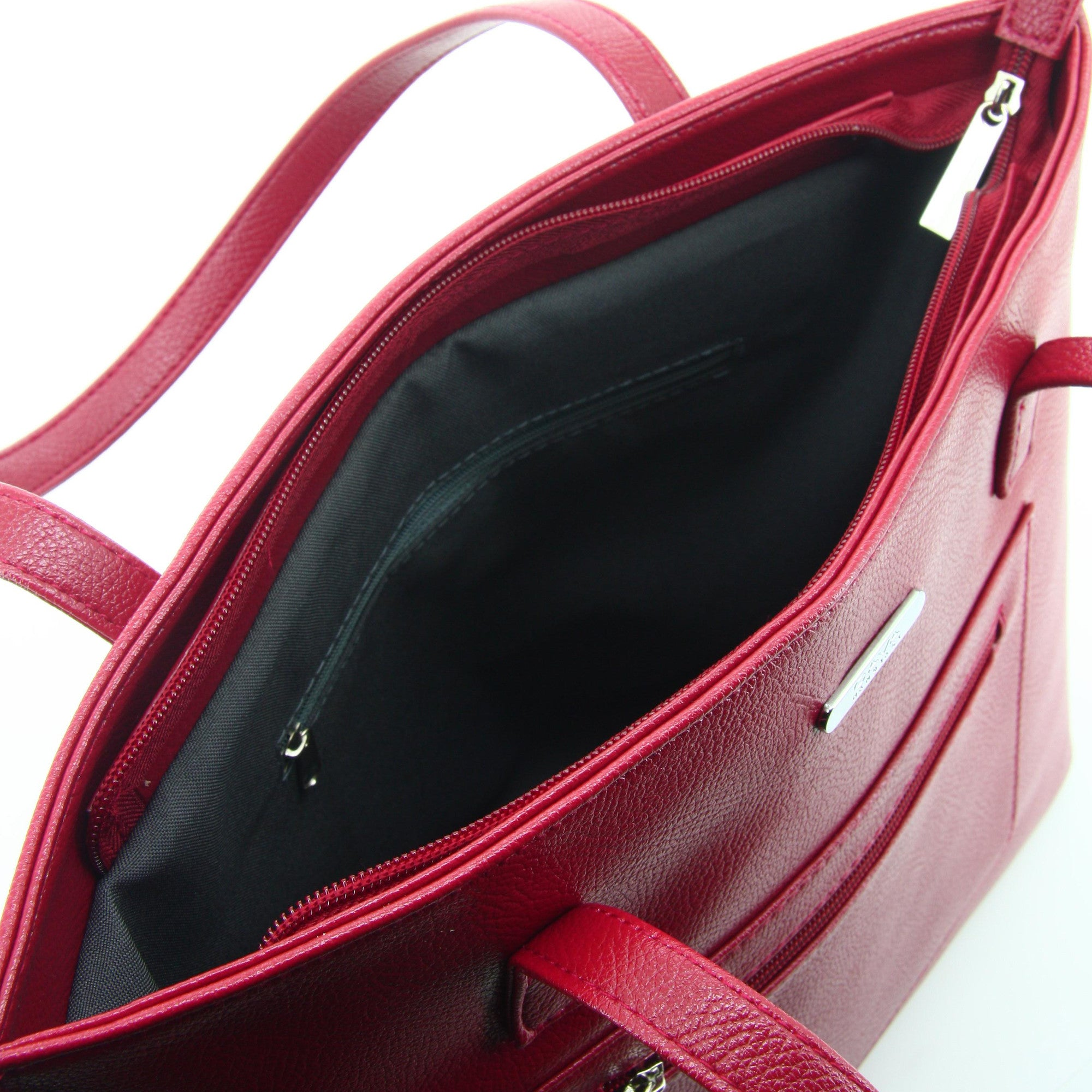 C17FE744RE 2-IN-1 TOTE BAG AND SLING (Red)