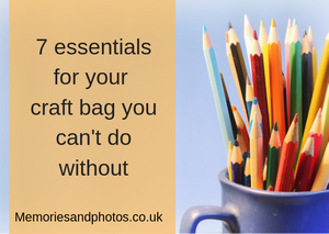 7 essentials for your craft bag you can't do without