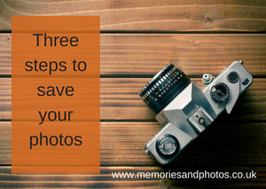 April reminder - save your photos!