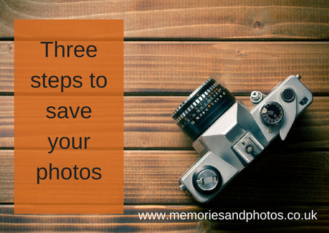 3 steps to save your photos