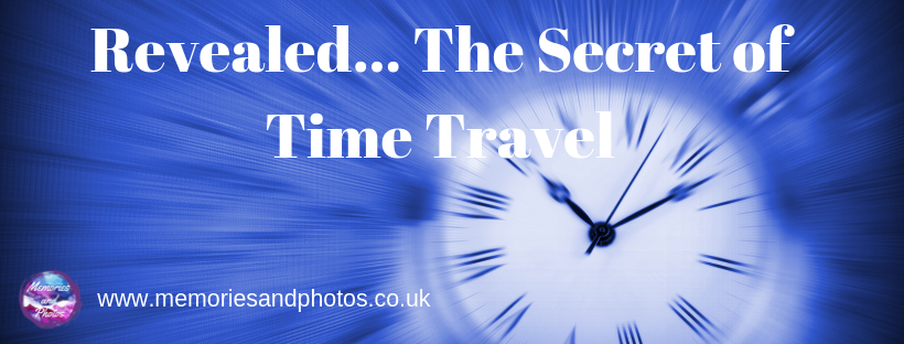 revealed...the secret of time travel