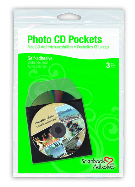 Photo CD Pockets ISO 18930 certified photo safe