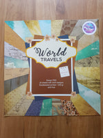 World Travels 12x12 paper pack - Memories and Photos