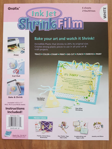 Print and create your own shrink plastic embellishments - Memories and Photos