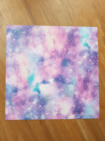 12x12 cardstock pack - Purple Galaxy - Memories and Photos