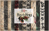 "12"" x 12"" paper pack - His and Hers - Memories and Photos"