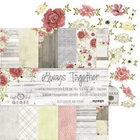 "12"" x 12"" paper pack - Always Together"