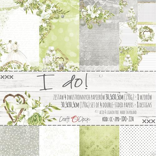 "12"" x 12"" paper pack - I do! - Memories and Photos"