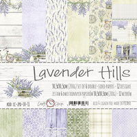 "12"" x 12"" paper pack - Lavender Hills - Memories and Photos"