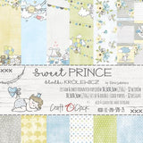 "12"" x 12"" paper pack - Sweet Prince (baby and toddler) - Memories and Photos"