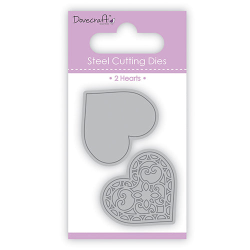First Edition steel die - Filigree heart set