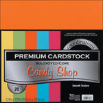 Darice Core'dinations Cardstock Pack. 12x12 Candy Shop - Memories and Photos