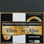 Darice Core'dinations Cardstock Pack. 12x12 Black Tie Affair - Memories and Photos