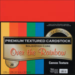 Darice Core'dinations Cardstock Pack. 12x12 Over the Rainbow - Memories and Photos