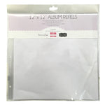 "12""x12"" scrapbook album refill pages (10 pack) - Memories and Photos"