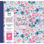 Scrapbook Album 12x12. Snapload style. Bloom and Wonder