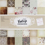 Classic vintage 12x12 paper pad - Memories and Photos