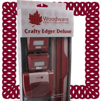 Crafty Edger Deluxe. Border and Corner punch system. Starter Set