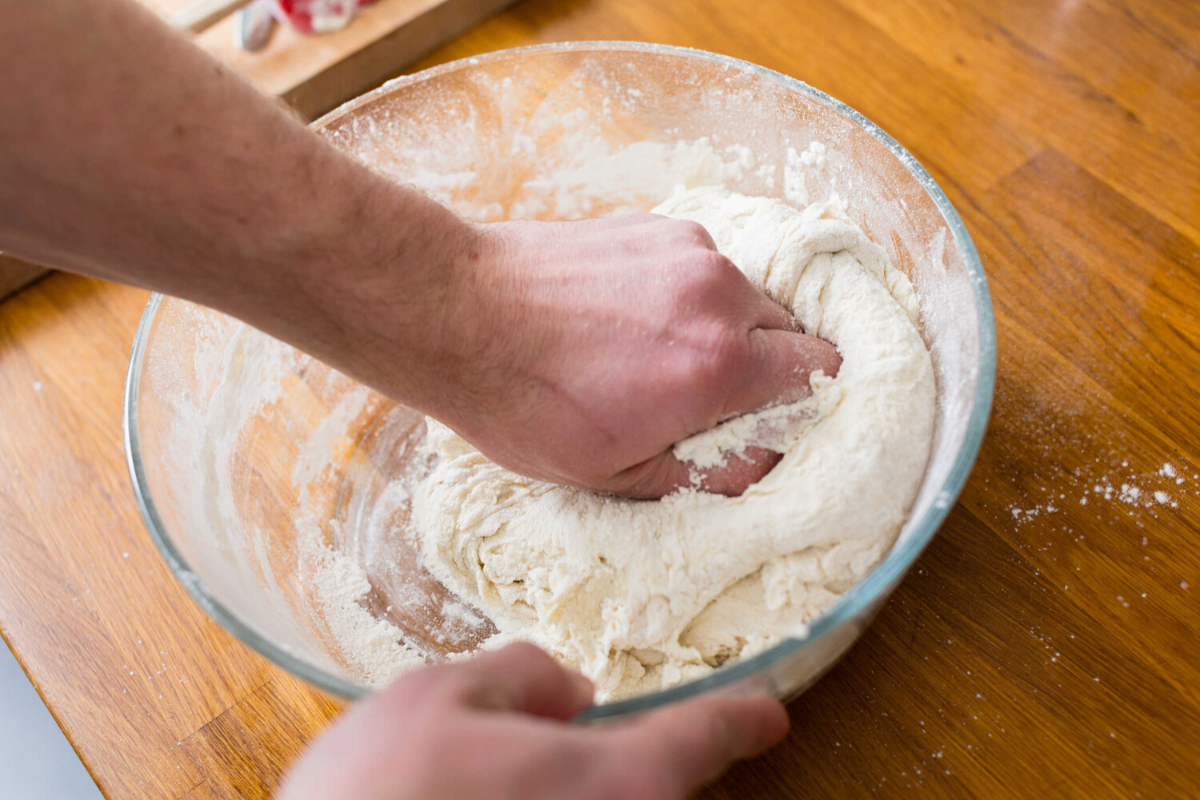 making pizza dough at home fermentation times