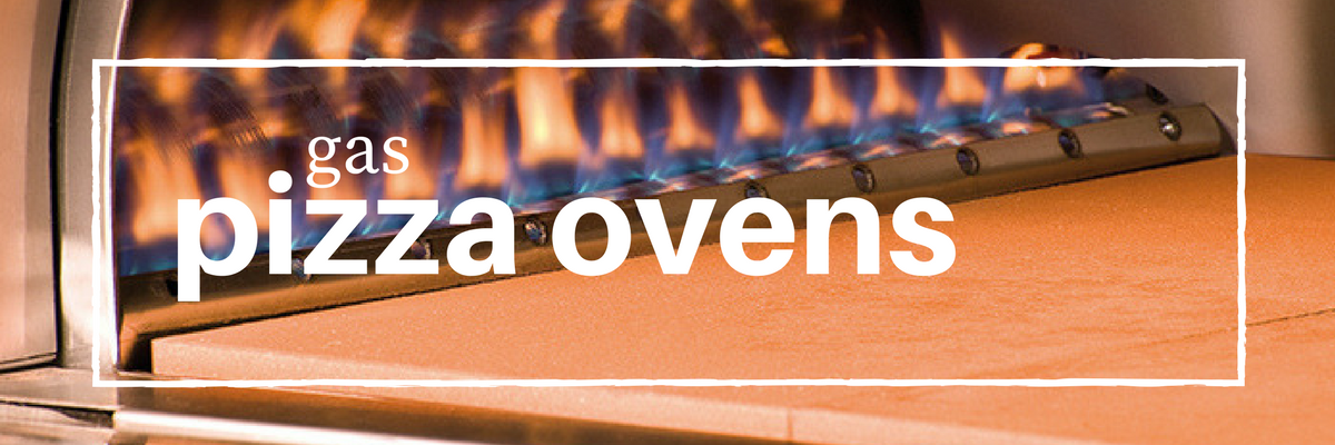 gas pizza ovens burners alight