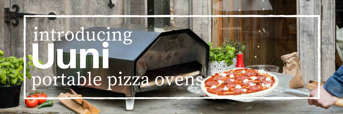 Uuni Portable Pizza Ovens including the 'pro' & '3'