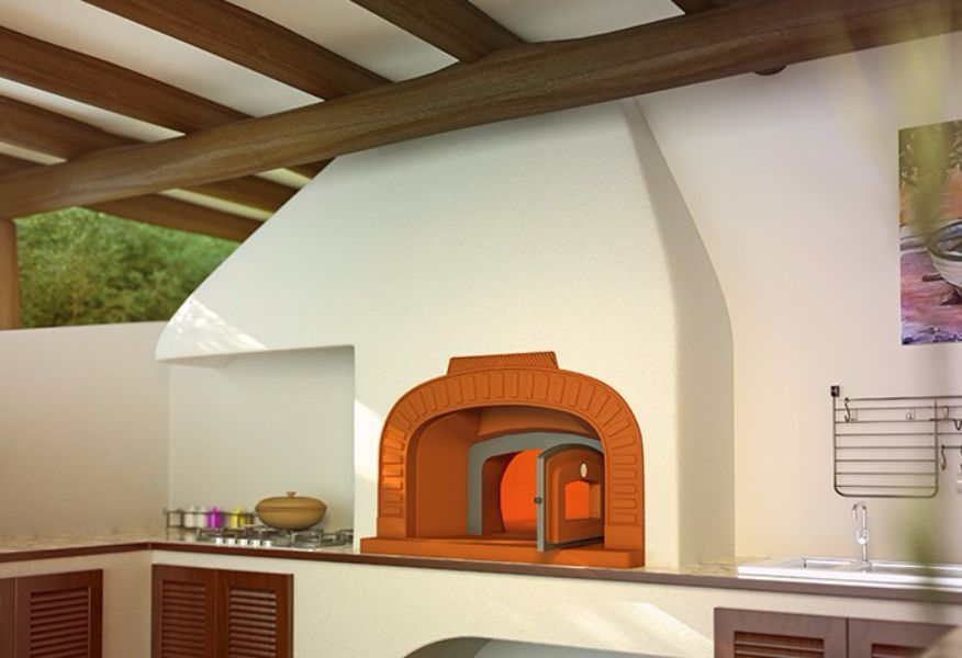 Enclosed Covered Built in Oven