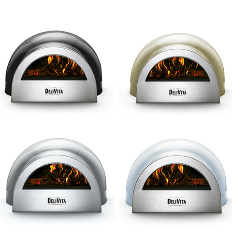 Image of DeliVita Wood Fired Pizza Oven the pizza oven store