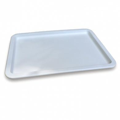 Doughmate Artisan Dough Tray lid in White - small - The Pizza Oven Store Australia