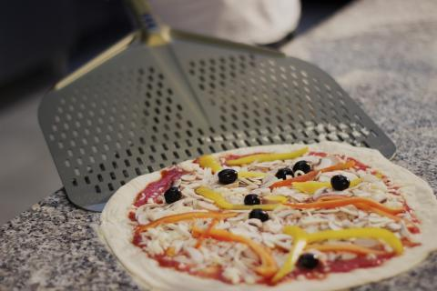Gi.Metal Linea GHA Rectangular Perforated | The Pizza Oven Store