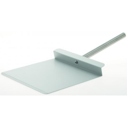 Gi-Metal PPP30 Aluminum Pizza Peel Square 30 x 30 cm | The Pizza Oven Store