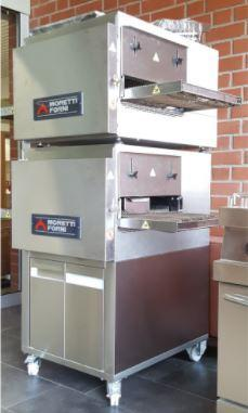 Image of Moretti Forni T64E-2 Conveyor Pizza Oven the pizza oven store