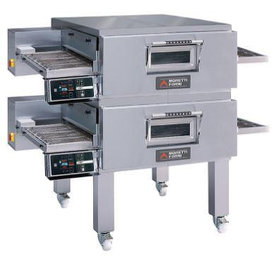 Image of Moretti Forni T97G-2 Conveyor Pizza Oven the pizza oven store