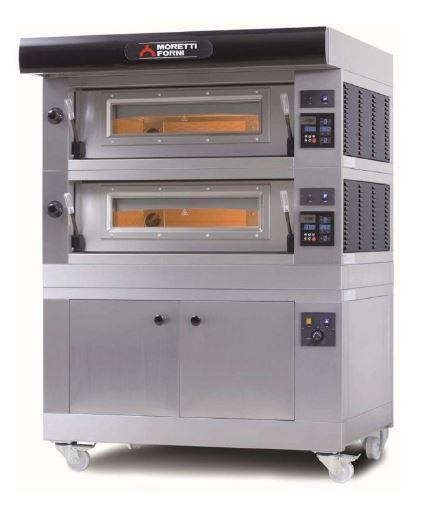 Moretti Forni COMP D-2-L Commercial Pizza Oven - The Pizza Oven Store Australia