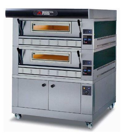 Moretti Forni COMP P110G B-2-S Commercial Pizza Oven - The Pizza Oven Store Australia