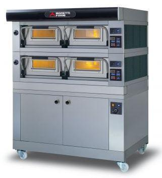 Moretti Forni COMP P120E A-2-L Commercial Pizza Oven | The Pizza Oven Store