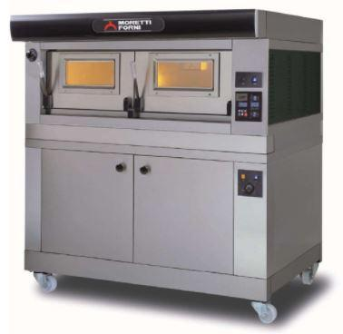 Moretti Forni COMP P120E B-1-S Commercial Pizza Oven - The Pizza Oven Store Australia