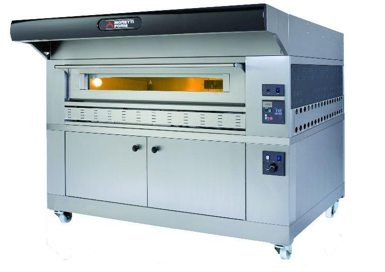 Moretti Forni COMP P150G A-1 Commercial Pizza Oven - The Pizza Oven Store