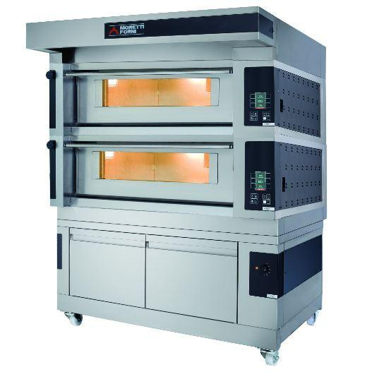 Moretti Forni COMP S125E-2-L Commercial Pizza Oven - The Pizza Oven Store